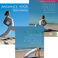 RADIANCE YOGA DVDS